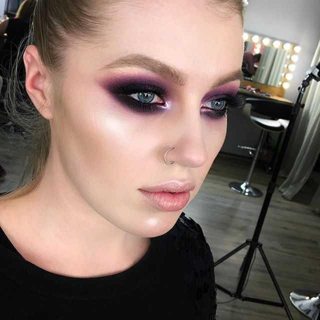 макияж в стиле панк-рок