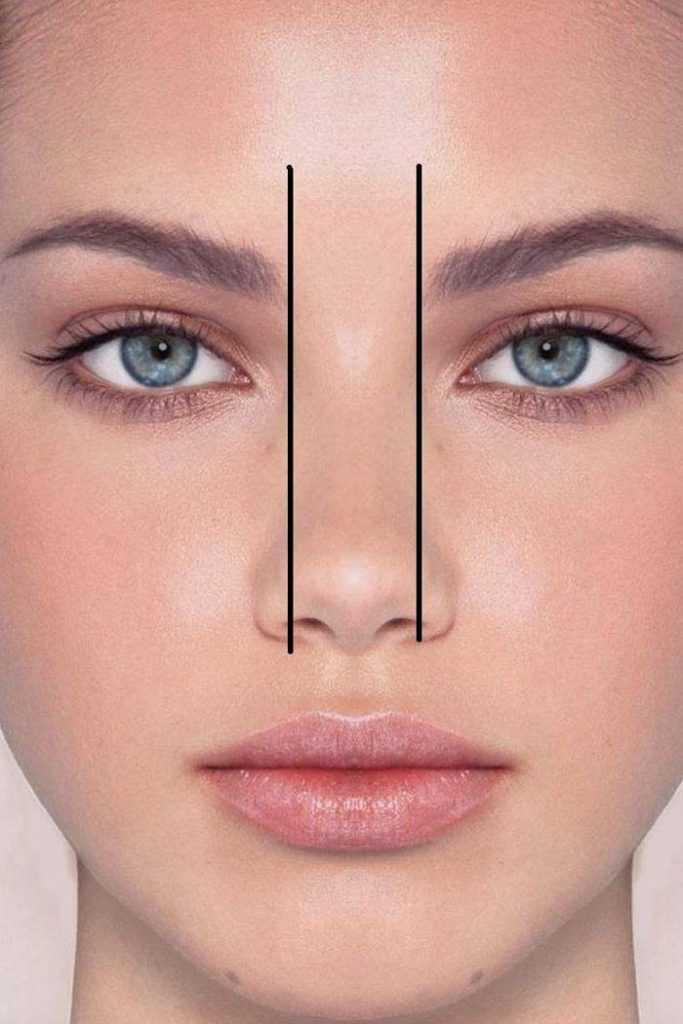 как форма бровей меняет лицо
