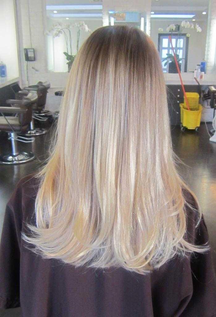 пепельный оттенок волос в салоне
