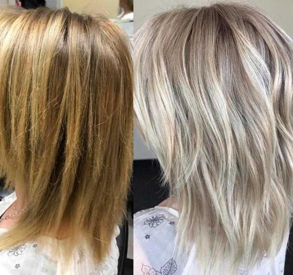 как добиться пепельного блонда